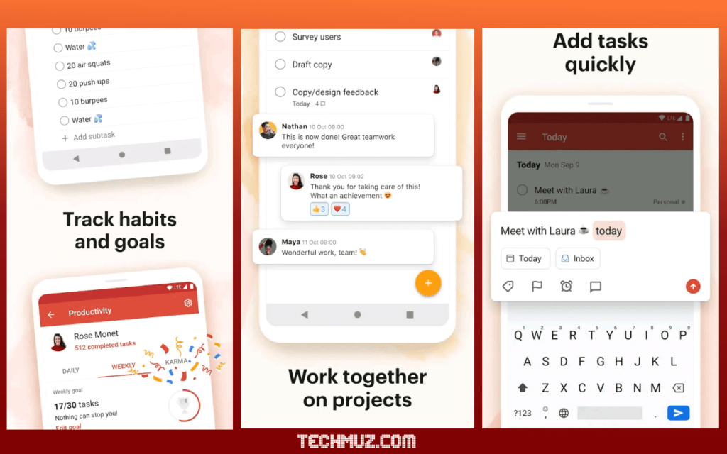 Task management Android apps